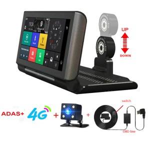 4G ADAS Car DVR Dash Cam Mirror GPS Bluetooth WIFI Android