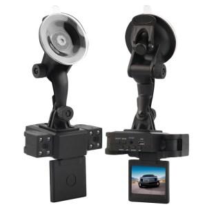 DVR 1080P HD 270 Degree Rotatable Lens Car Camera Dual Camera