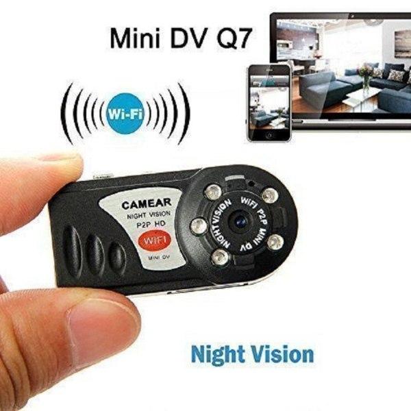 WiFi Camera Mini Q7 Camera DV DVR Wireless Nanny IP Brand New