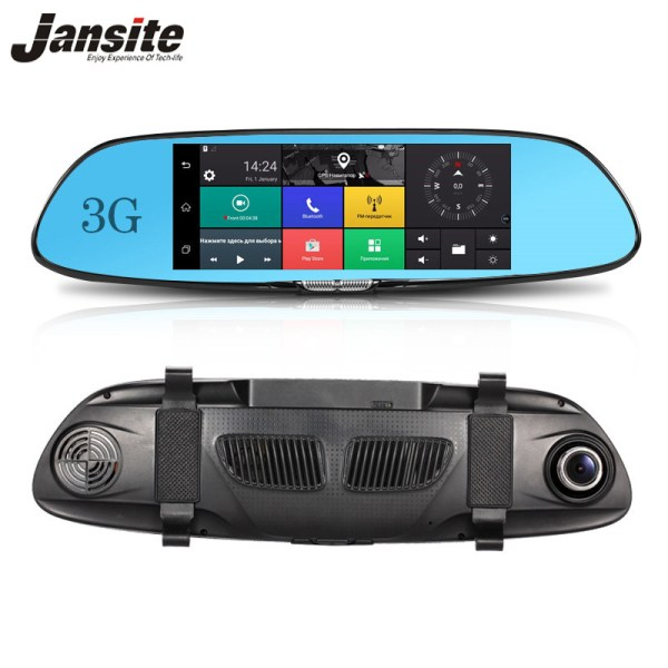 "3G GPS navigation Car Dvr 7"" Touch screen Car camera Android 5.0"