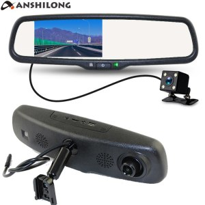 Special Car Rear view Mirror DVR Monitor HD 1280x720 Camera with Bracket