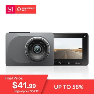 "YI Dash Camera 2.7"" Screen Full HD 1080P 60fps 165 degree"