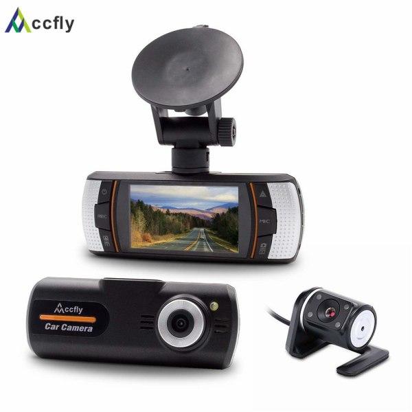 DVR dash cam camera dashcam dual lens car