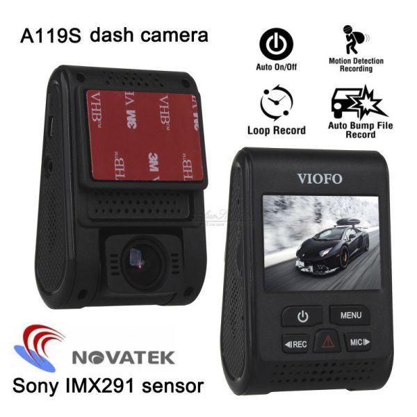 Car Dash cam video Camera DVR optional GPS