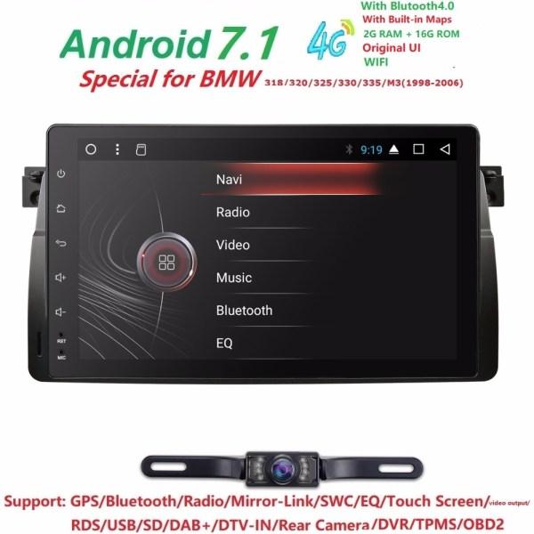 """4G 9""""Android7.1 QuadCore Head Unti Car NODVD Player"""