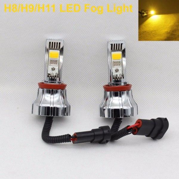 Foglamp Bulb Car Fog lamp 3000K Amber LED Lights