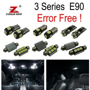LED Bulb Interior dome Light Kit for 2005-2011 bmw E90 Sedan