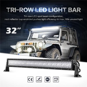LED Light Bar Spot Flood Combo Beam Offroad