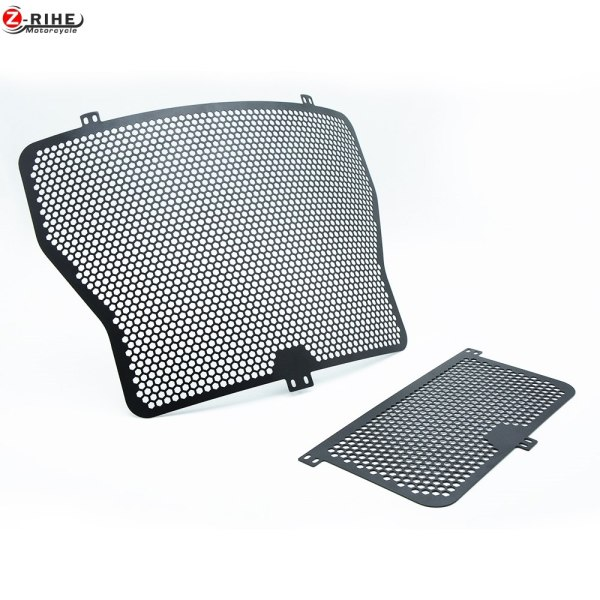 moto Aluminium Radiator Side Guard Grill Grille Cover Protector