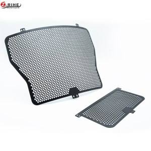 moto Aluminium Radiator Side Guard Grill Grille Cover Protector