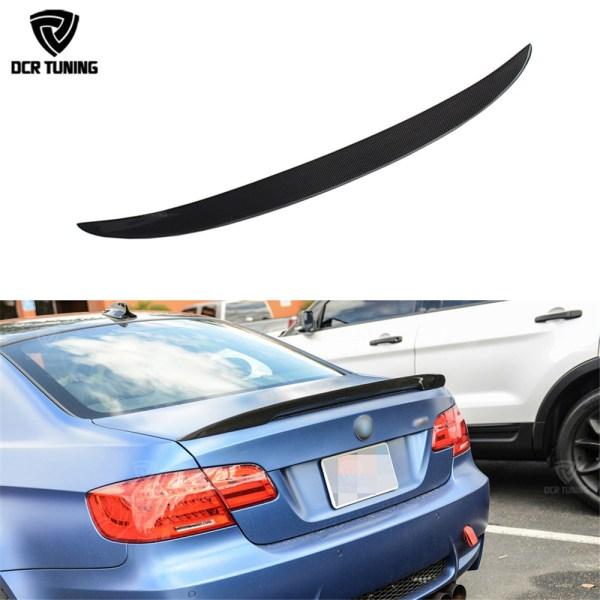 Carbon wings For BMW E92 Spoiler 3 Series 2 Door E92 M3 E92