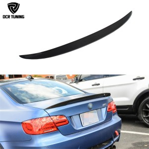 Carbon wings For BMW E92 Spoiler 3 Series 2 Door E92 M3 E92