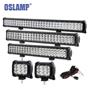 "Oslamp 4"" 20"" 23"" 28"" 12"" 31"" LED Work Light for Boat SUV ATV Pickup"