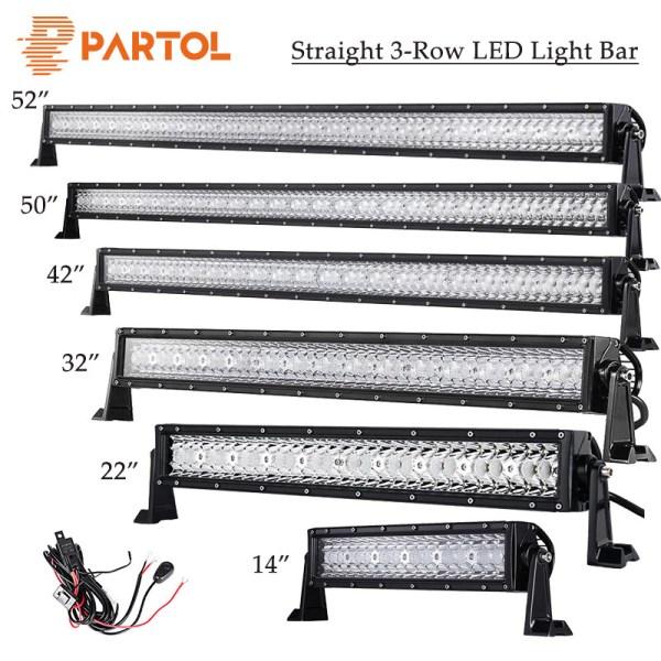 LED Light Bar Work Light for OffRoad 4WD 4x4 Boat Car