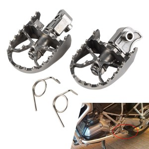 Front Footpegs Foot Rest Peg For BMW F650GS G650GS 2000-2012
