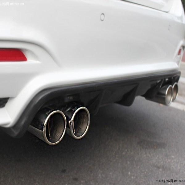 Carbon Fiber Rear Bumper Diffuser for BMW F82 M4 F80 M3 2014-2015