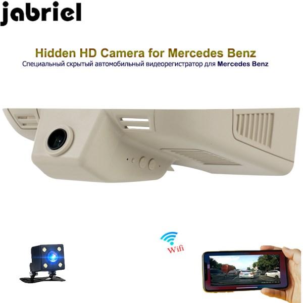 Jabriel auto hidden 1080P car dvr dash cam driving recorder dual lens for 2013 2014 2015 Mercedes Benz W163 W164 ML GL 320 350