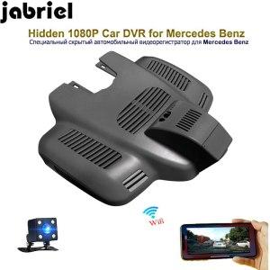 Jabriel auto hidden HD 1080P dash cam wifi car dvr driving recorder rearview camera wifi for 2017 Mercedes Benz E320 W213 W212