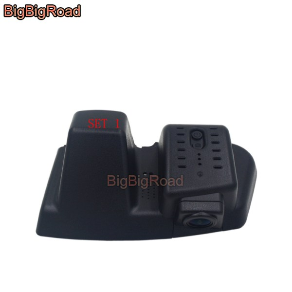 BigBigRoad For Ford Edge 2015-2018 Car wifi DVR Driving Video Recorder front camera Car Dash Cam FHD 1080P