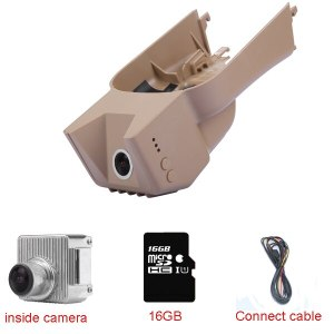 Car Dash Cam Video Recorder Black box fit for Mercedes Benz GL/M/R/ X164/164/251 With Commom connect cable