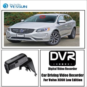YESSUN for Volvo XC60 Low Edition Car Driving Video Recorder DVR Mini Wifi Camera Novatek 96658 FHD 1080P Dash Cam