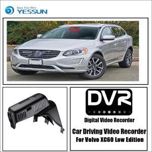 YESSUN for Volvo XC60 Low Edition Car Driving Video Recorder DVR Mini Wifi Camera Novatek 96658 FHD 1080P Dash Cam