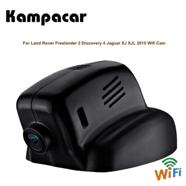 Kampacar Car Recorder Wifi Dvr Dash Cam Video Camera For Land Rover Evoque F-TYPE XE Range Rover 2015 Jaguar XJ XJL 2016 2 DVRs