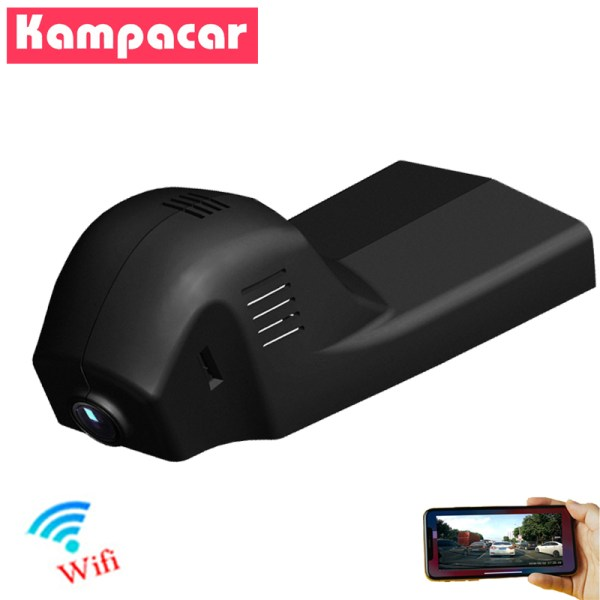 Kampacar 1080P Wifi Car Recorder Dvr Dash Cam Rearview Camera For BMW 1 2 3 5 7 Series X1 X3 X5 X6 E46 E90 F30 E39 E60 F10 Dvrs