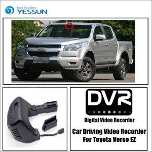 YESSUN for Toyota Verso EZ Car Driving Video Recorder DVR Mini Control APP Wifi Camera FHD 1080P Registrator Dash Cam