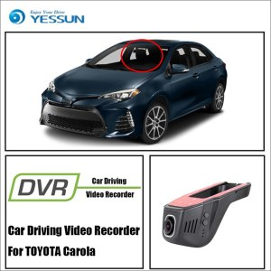 YESSUN Front Camera Dash Car DVR Digital Video Recorder For TOYOTA Carola HD 1080P Not Reverse Parking Camera