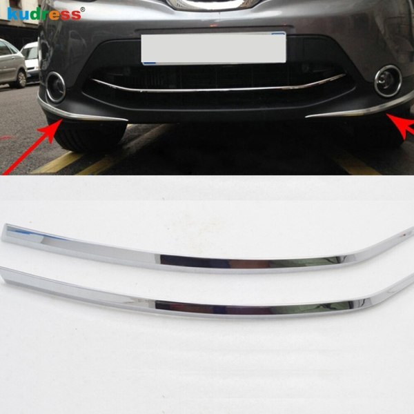 Nissan Qashqai Bumper Foglight Eyelid Chafing Strip Cover