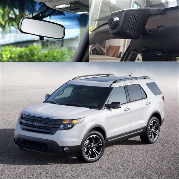 BigBigRoad For Ford explorer Mustang GT Ecosport Maverick Mondeo Focus 2 Car Wifi DVR Video Recorder Dash Cam