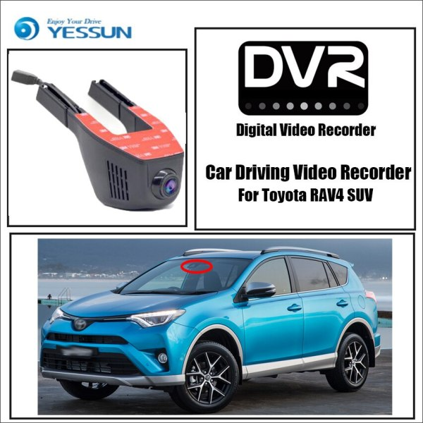 YESSUN for Toyota RAV4 SUV Car Mini DVR Driving Video Recorder Control APP Wifi Camera Novatek 96658 Registrator Dash Cam