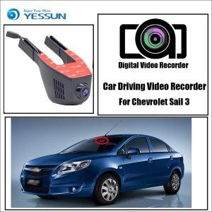 YESSUN for Chevrolet Sail 3 Car Driving Video Recorder DVR Mini Control APP Wifi Camera FHD 1080P Registrator Dash Cam