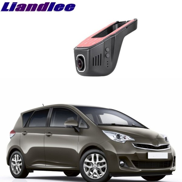 Liandlee For Toyota Verso / E'Z AR20 2009~2017 Car Road Record WiFi DVR Dash Camera Driving Video Recorder