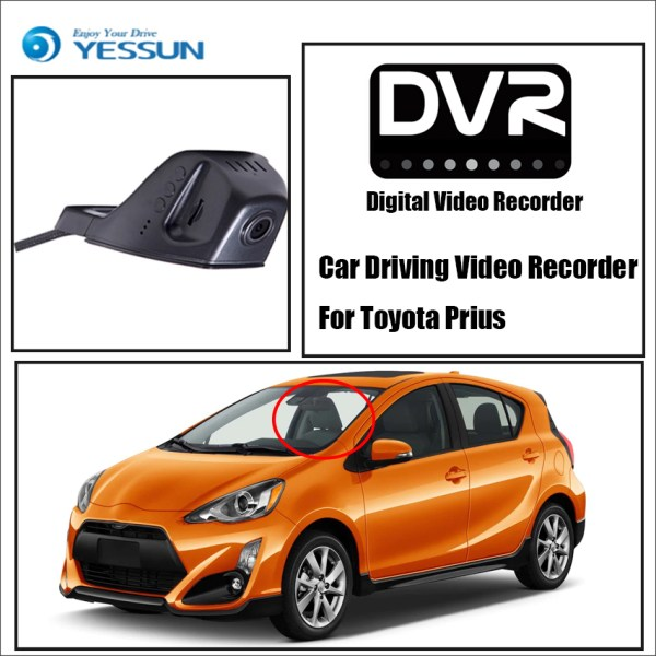 YESSUN Car DVR Digital Video Recorder For Toyota Prius - Front Camera Dash HD 1080P Not Reverse Parking Camera