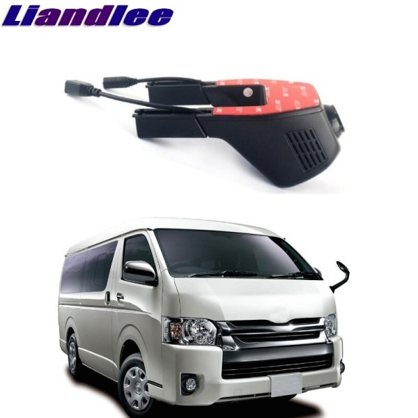 Liandlee For Toyota HiAce / Commuter / RegiusAce H200 2004~2018 Car Road Record WiFi DVR Dash Camera Driving Video Recorder