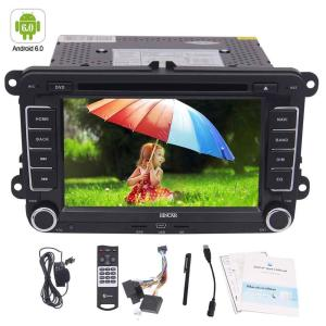 Android 6.0 Car DVD Player Stereo Autoradio Double Din GPS Navigation 7'' WiFi Canbus External Microphone Cam-IN for VW PASSAT
