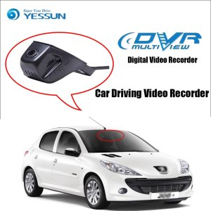 YESSUN for Peugeot 206 Car Driving Video Recorder Wifi DVR Mini Camera Novatek 96658 FHD 1080P Dash Cam Night Vision
