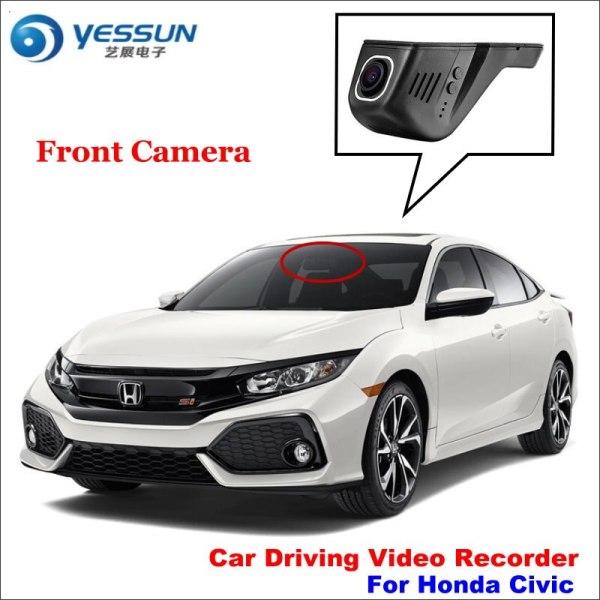 YESSUN Car Dvr Camera Driving Video Recorder For Honda Civic Camera AUTO Rearview Camera Dash CAM WIFI Dash Camera