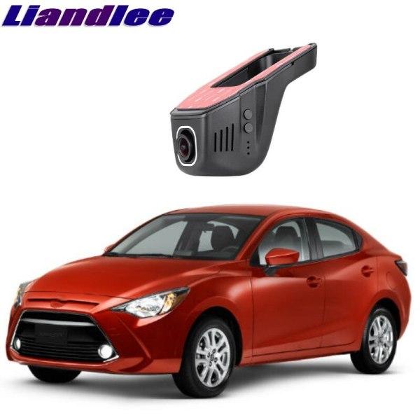 Liandlee For Toyota Yaris R DY DE DJ 2002~2018 Car Road Record WiFi DVR Dash Camera Driving Video Recorder