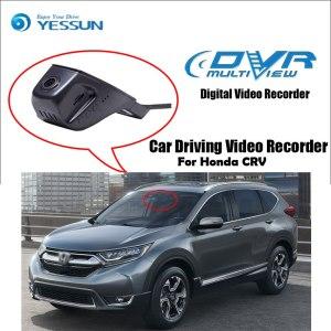 YESSUN for Honda For CRV For CR-V Car DVR Driving Video Recorder Mini Control APP Wifi Camera Registrator Dash Cam Night Vision