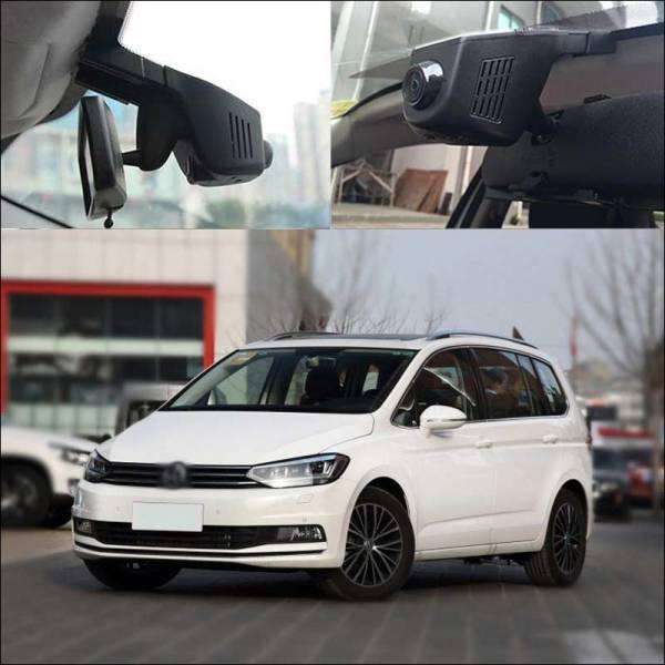 BigBigRoad For Touran Passat Polo Gran Lavida Santana Car Wifi DVR Video Recorder Hidden installation dash cam