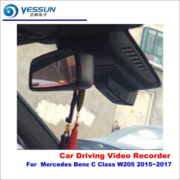 YESSUN Car DVR Camera Driving Video Recorder Dashcam For Mercedes Benz GLC C Class (W205) 2015 AUTO Rearview Camera Dash CAM