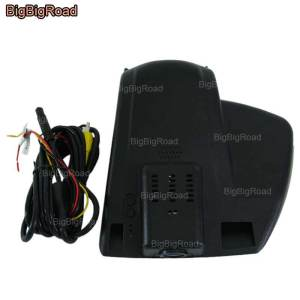 BigBigRoad For Ford Mondeo MK5 2013 2017 Low Configured Car wifi DVR Video Recorder hidden installation Dash Cam Car