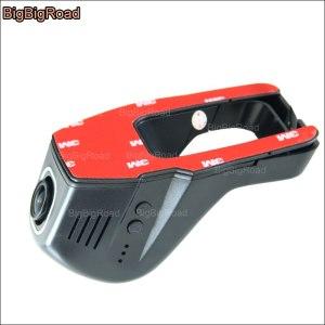 BigBigRoad Car wifi DVR Video Recorder Novatek 96655 Car Dash Camera night vision g-sensor For Honda Accord Crosstour