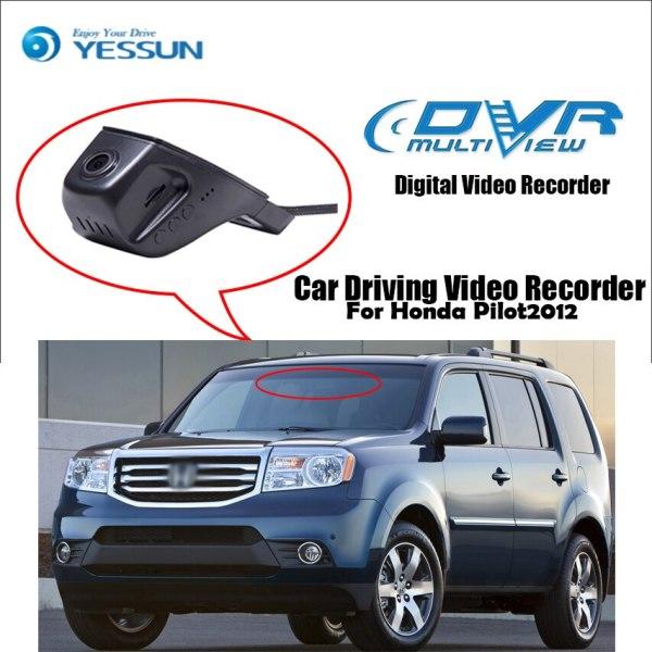 YESSUN for Honda Pilot 2012 Car Driving Video Recorder Wifi DVR Mini Camera Novatek 96658 FHD 1080P Dash Cam Night Vision