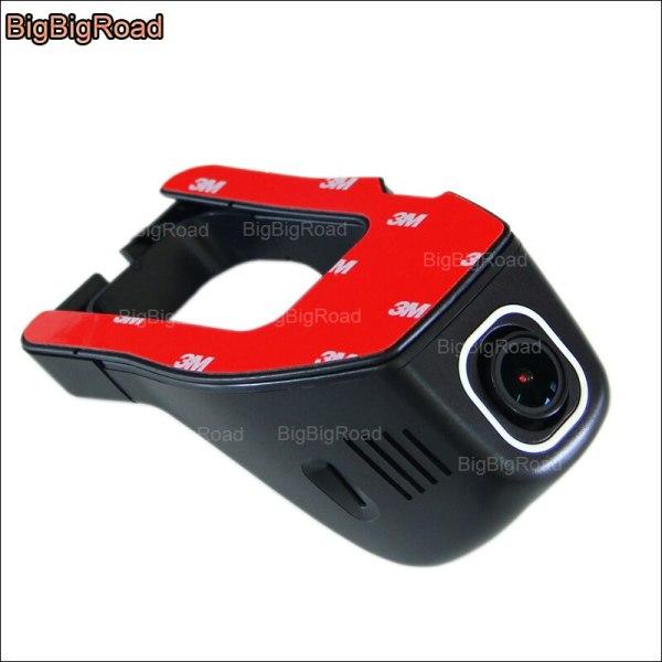 BigBigRoad For Ford MONDEO Car Wifi DVR Video Recorder hidden installation Novatek 96655 dash cam FHD 1080p