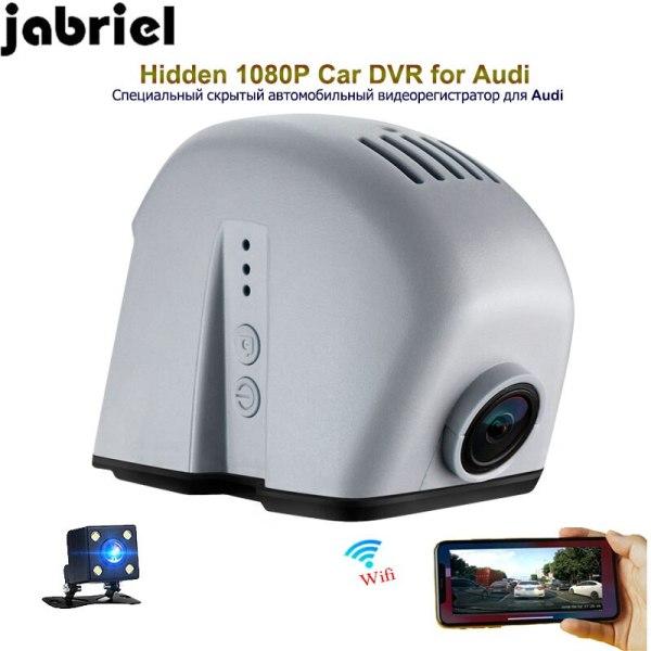 Jabriel 1080P hidden car dvr dash cam rearview camera car driving recorder for audi A3 A4 A5 A6 A7 A8 Q3 Q5 Q7 TT RS3 RS5 RS7