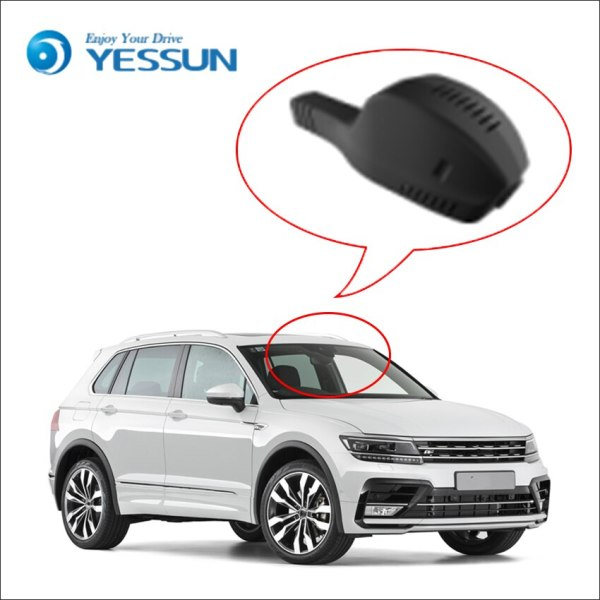YESSUN Front Dash Camera for Volkswagen Golf 7 2015 HD 1080P Not Rear Back Camera Car DVR Driving Video Recorder